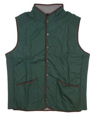 New W/ Logo Mens Fairway & Greene The Commander Wind Vest Medium M Green I11291
