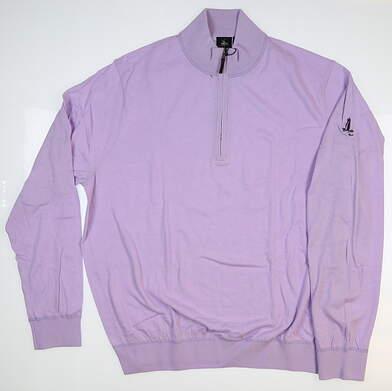New W/ Logo Mens Fairway & Greene McCallan Blend Sweater X-Large XL Purple MSRP $169