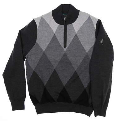 New W/ Logo Mens Fairway & Greene Homer Argyle Windsweater Large L Multi MSRP $225