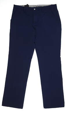 New Mens Adidas Ultimate 365 Fall Weight Pants 34x32 Navy Blue MSRP $100 DT4401