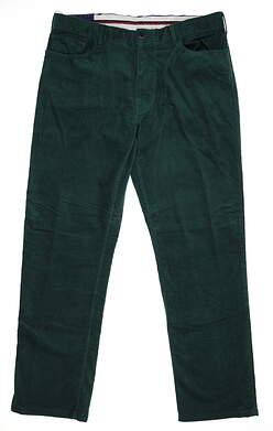 New Mens Ralph Lauren Corduroy Pants 36x32 Green