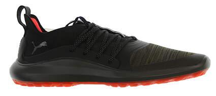 New Mens Golf Shoe Puma IGNITE NXT SOLELACE Medium 10 Burnt Olive/ Aged Silver/ Black MSRP $120