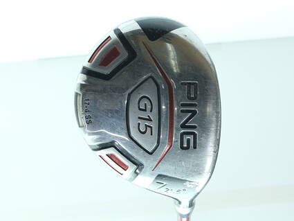Ping G15 Fairway Wood 7 Wood 7W 21.5* Ping TFC 149F Graphite Ladies Right Handed 40.5 in