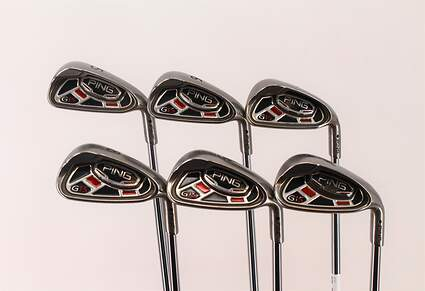Ping G15 Iron Set 5-PW Ping AWT Steel Regular Right Handed Black Dot 38 in