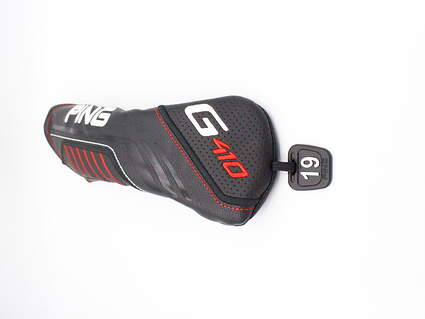 Ping G410 3 Hybrid Headcover 19° Tag Black White and Red