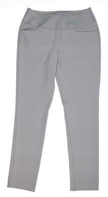 New Womens Puma PWRSHAPE Golf Pants Size Large L Gray MSRP $80 574779 04