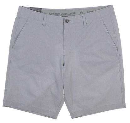 New Mens Under Armour Golf Shorts Size 38 Gray MSRP $65