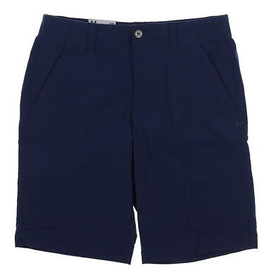 New Mens Under Armour Golf Shorts Size 32 Navy Blue MSRP $65