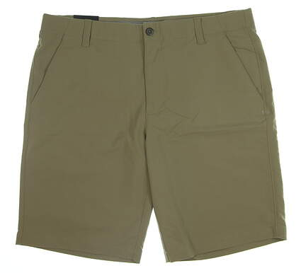 New Mens Under Armour Golf Shorts Size 40 Tan MSRP $65