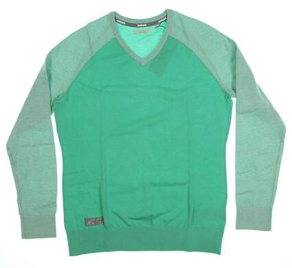 New Womens Adidas Sweater Medium M Green MSRP $80 CE0543