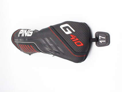 Ping G410 2 Hybrid Headcover 17° Tag Black White and Red