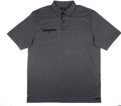 New Mens Greg Norman Golf Polo X-Large XL Gray G7F&K520