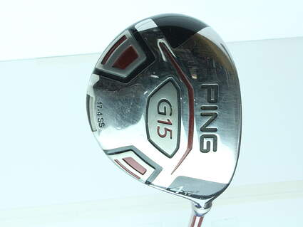 Ping G15 Fairway Wood 4 Wood 4W 17* Ping TFC 149F Graphite Stiff Right Handed 42.75 in