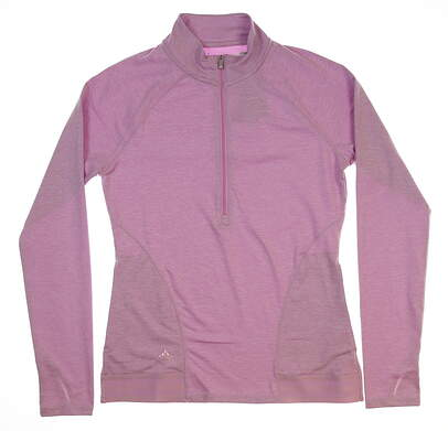 New Womens Adidas Pullover Small S Pink MSRP $86