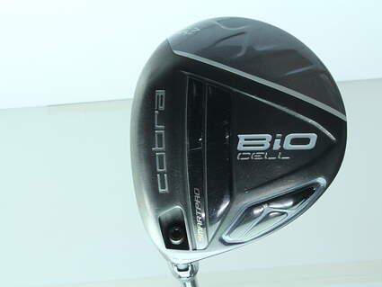 Cobra Bio Cell Silver Fairway Wood 5 Wood 5W 18.5* Project X PXv Graphite Stiff Left Handed 43 in
