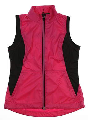 New Womens Zero Restriction Carrie Wind Vest Small S Pink MSRP $100 W380L