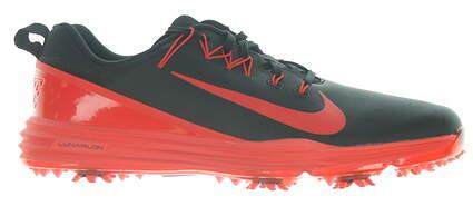 New Mens Golf Shoe Nike Lunar Command 2 9 Black/Red MSRP $135