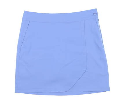 New Womens EP NY Faux Wrap Golf Skort Size 4 Azure MSRP $90 1330NCC