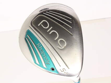 Ping 2015 Rhapsody Fairway Wood 5 Wood 5W 22* Ping ULT 220F Lite Graphite Lite Right Handed 41.5 in