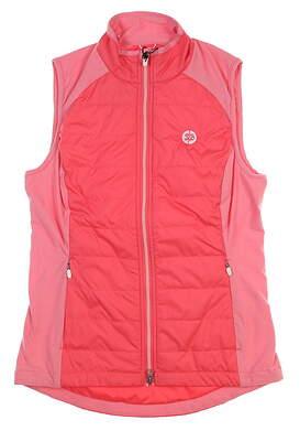 New W/ Logo Womens Zero Restriction Vest Medium M Pink L324L