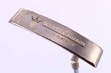 Titleist Scotty Cameron Pro Platinum Laguna Mid Slant Putter Stock Steel Shaft Steel Right Handed 35 in