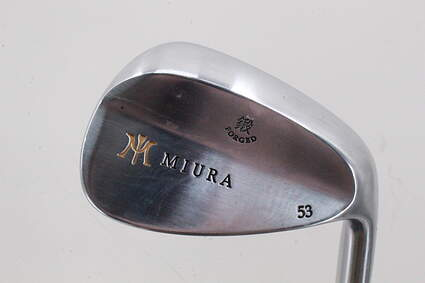 Mint Miura Wedge Series Wedge Gap GW 53* FST KBS Tour 120 Steel Stiff Right Handed 35.5 in