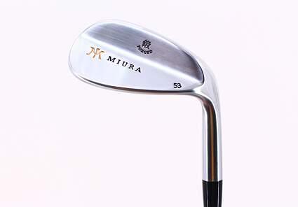 Mint Miura Wedge Series Wedge Gap GW 53* FST KBS Tour 120 Steel Stiff Right Handed 36 in
