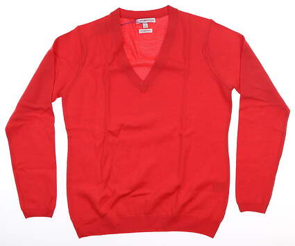 New Womens Peter Millar Sweater Small S Red LF16ES03 MSRP $159
