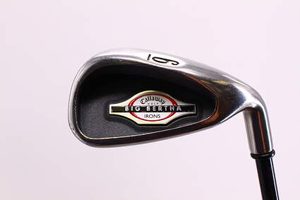 Callaway 2002 Big Bertha Single Iron 6 Iron Callaway RCH 75i Graphite Regular Right Handed 37.5 in