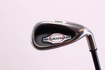 Callaway 2002 Big Bertha Single Iron 8 Iron Callaway RCH 75i Graphite Regular Right Handed 36.5 in