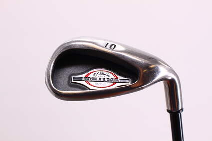 Callaway 2002 Big Bertha Single Iron Pitching Wedge PW Callaway RCH 75i Graphite Regular Right Handed 35.75 in