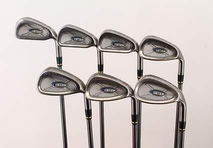 Cobra CXI SF Iron Set 5-PW SW Stock Graphite Shaft Graphite Senior Right Handed 38.25 in