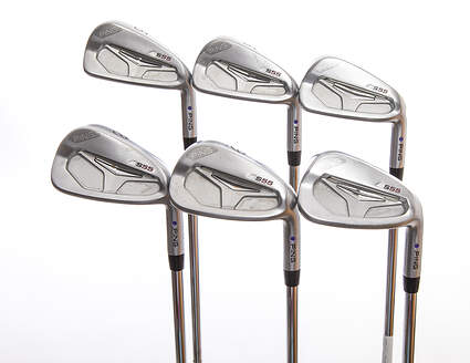 Ping S55 Iron Set 5-PW Ping CFS Steel Regular Right Handed Purple dot 38 in