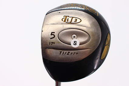 Ping T i3 Fairway Wood 5 Wood 5W 17* Ping Aldila 350 Series Graphite Stiff Left Handed 42.5 in