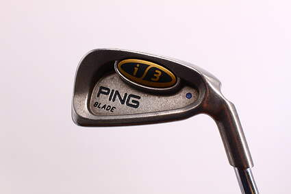 Ping i3 Blade Single Iron 3 Iron Rifle 5.5 Steel Stiff Right Handed Blue Dot 39 in
