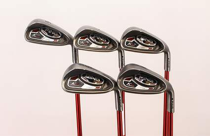 Ping K15 Iron Set 6-PW Ping TFC 149I Graphite Regular Right Handed Black Dot 37.5 in