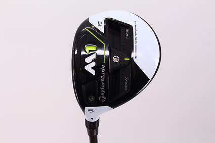 TaylorMade M1 Fairway Wood 5 Wood 5W 19* MRC Kuro Kage Silver TiNi 70 Graphite Stiff Left Handed 42.25 in