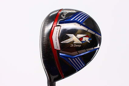 Callaway XR Deep Fairway Wood 3 Wood 3W 14* Project X LZ Graphite X-Stiff Left Handed 43.5 in