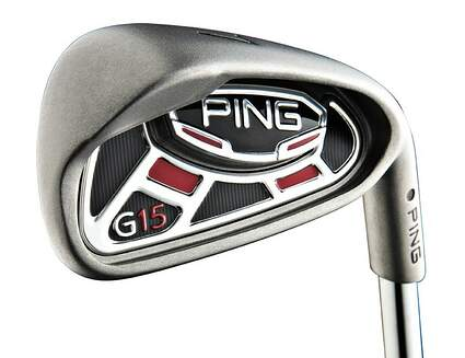 Ping G15 Iron Set 6-PW Ping AWT Steel Regular Right Handed Green Dot 37.25in