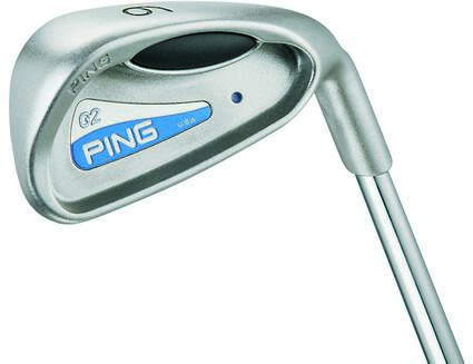 Ping G2 Iron Set 7-PW SW Ping TFC 100I Graphite Ladies Right Handed Orange Dot 36.25in