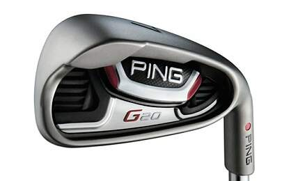 Ping G20 Single Iron 7 Iron Ping CFS Steel Stiff Right Handed Black Dot 37.0in
