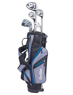 Tour Edge Hot Launch HL-J Blue 11-14 Year Old Complete Junior Golf Club Set