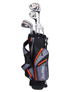 Tour Edge Hot Launch HL-J Orange 5-8 Year Old Complete Junior Golf Club Set