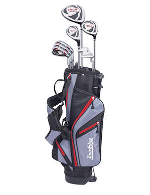 Tour Edge Hot Launch HL-J Red 9-12 Year Old Complete Junior Golf Club Set