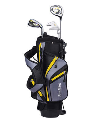 Tour Edge Hot Launch HL-J Yellow 3-6 Year Old Complete Junior Golf Club Set