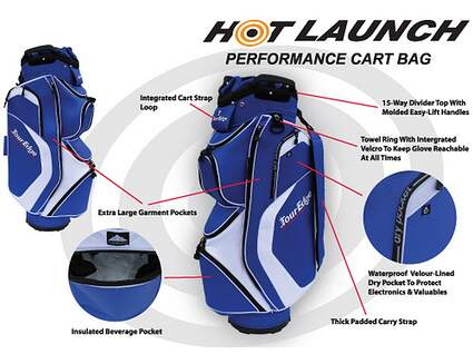 Tour Edge Hot Launch Cart Bag