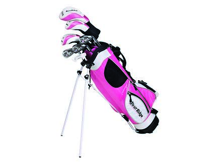 Tour Edge HT Max-J Pink 9-12 Year Old 5x2 Complete Junior Set