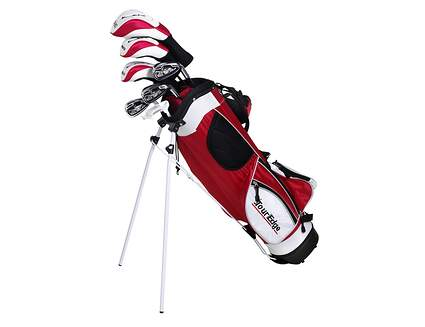 Tour Edge HT Max-J Red 9-12 Year Old 5x2 Complete Junior Set