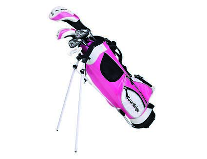 Tour Edge HT Max-J Pink 5-8 year old Complete Junior Set
