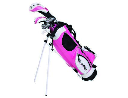 Tour Edge HT Max-J Pink 9-12 Year Old 4x1 Complete Junior Set